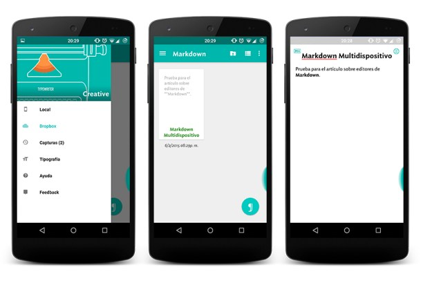 markdown jotterpard android