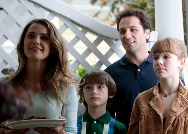 "Los Jennings, una típica ""familia"" americana. <a href="