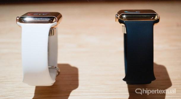 Cuando digo que la pantalla del Apple Watch se ve bien en cualquier ángulo de visión, es realmente cualquier ángulo de visión.