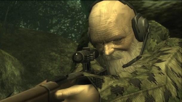 """""""The End"""", enemigo de Metal Gear Solid 3"""