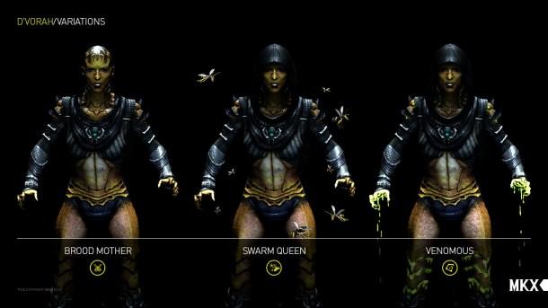 Mortal Kombat X - Variaciones