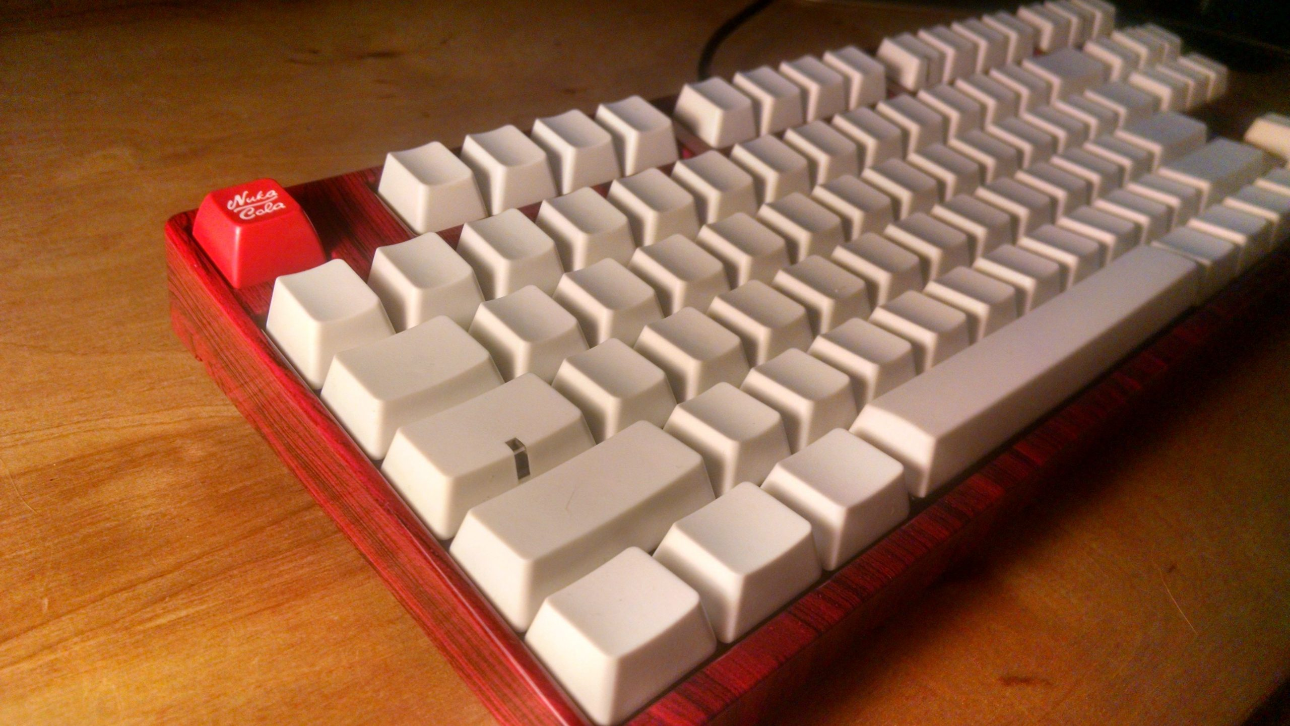 usar un teclado mecánico