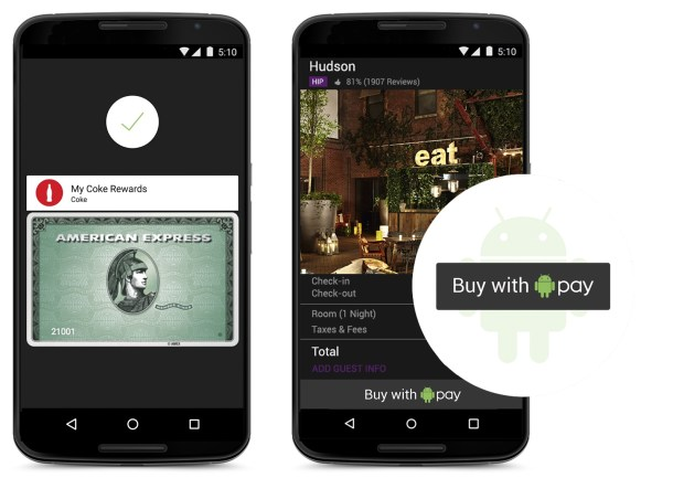 N6 Android Pay