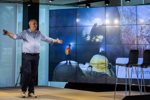 Carlos Barrabes - El Día del Emprendedor en Microsoft Ibérica