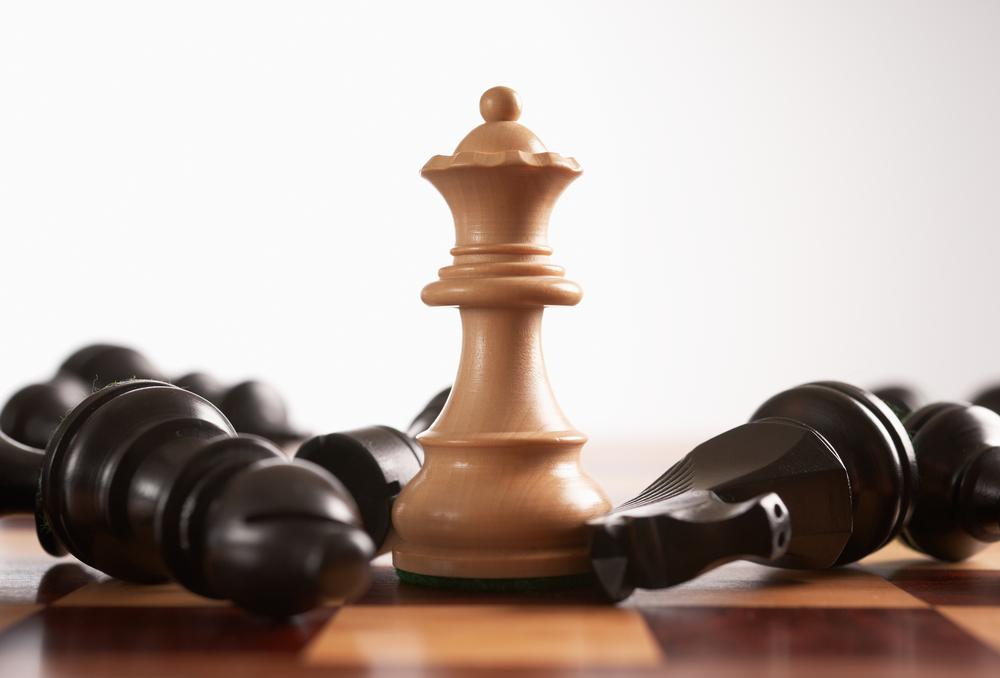 dama del ajedrez