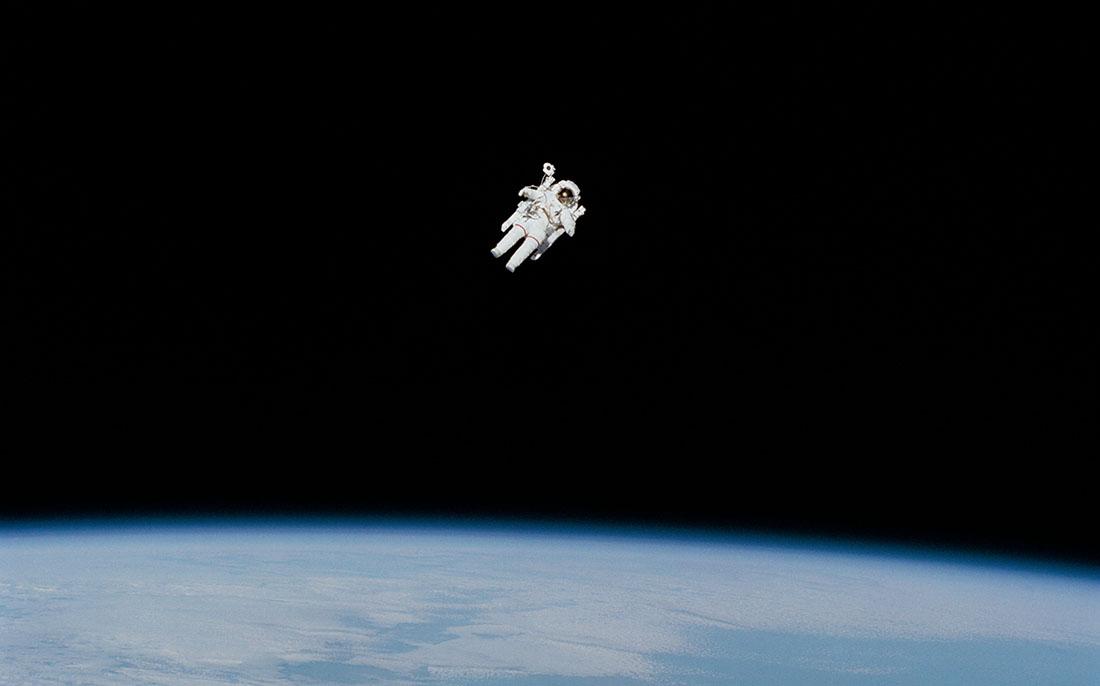 primer paseo espacial