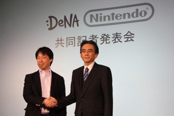 Acuerdo entre DeNa y Nintendo.