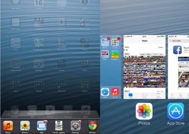 Pese a ser lo esperado, la UI de multitarea de iOS 7 resultó ser menos accesible y rápida que la anterior.
