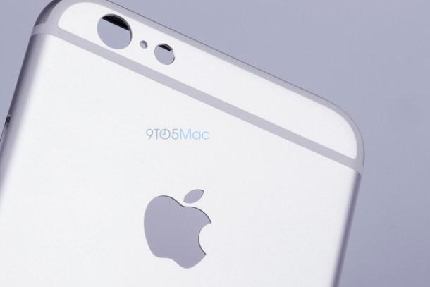 Foto del cuerpo de aluminio anodizado del nuevo iPhone 6s. A simple vista es idéntico al iPhone 6.