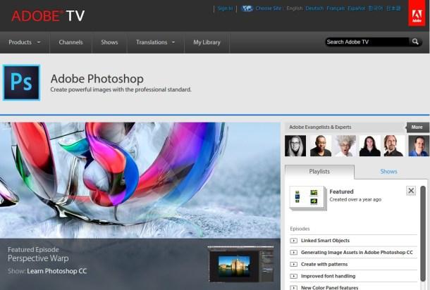 adobe-tv-sreenshot