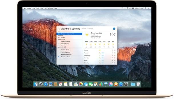 OS X El Capitán