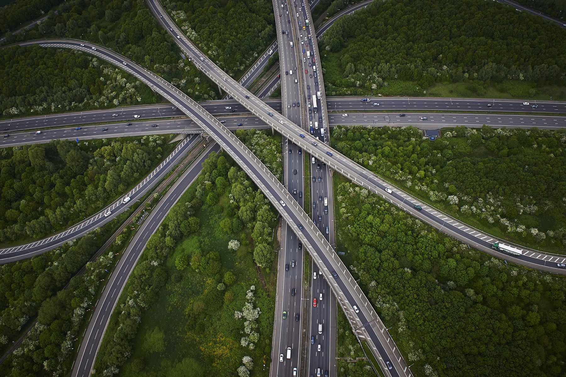 geometría de las autopistas
