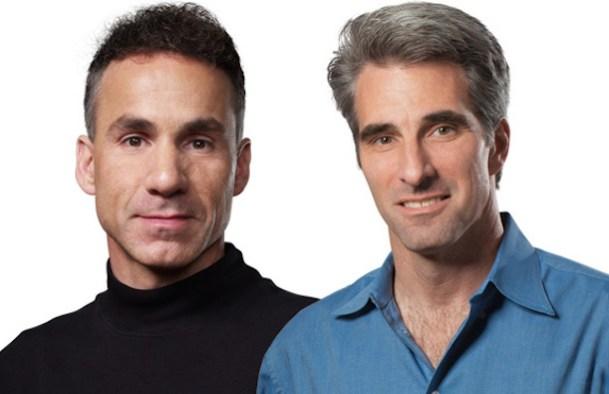 Dan Riccio y Craig Federighi