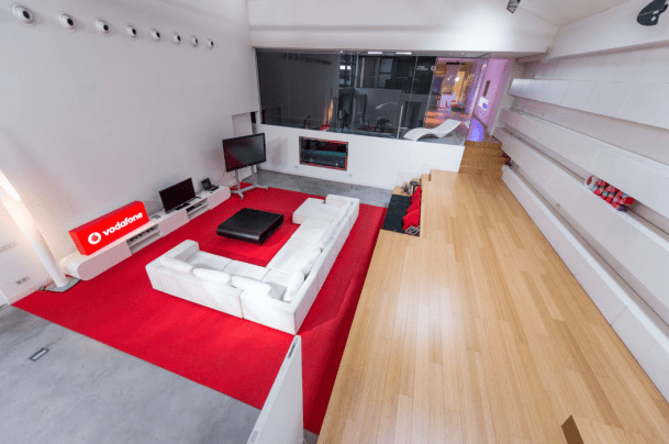"""La mansión que servirá de """"gaming house"""" al equipo. / Vodafone"""