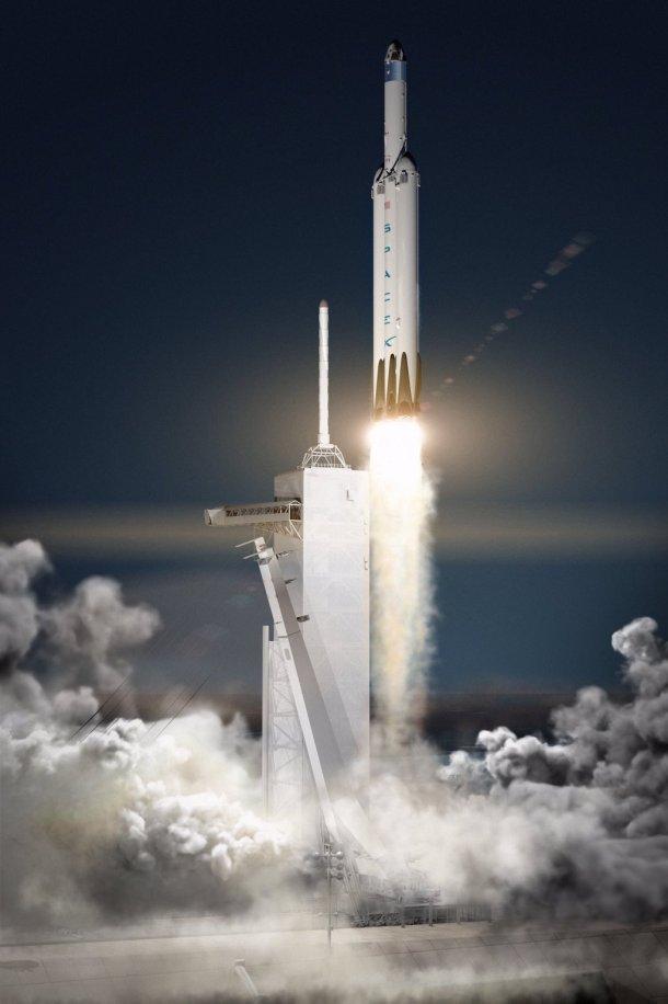 Flacon Heavy / SpaceX
