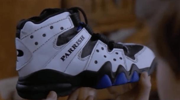 """Así mostraba """"Jumanji"""" en 1995 el zapato del futuro."""