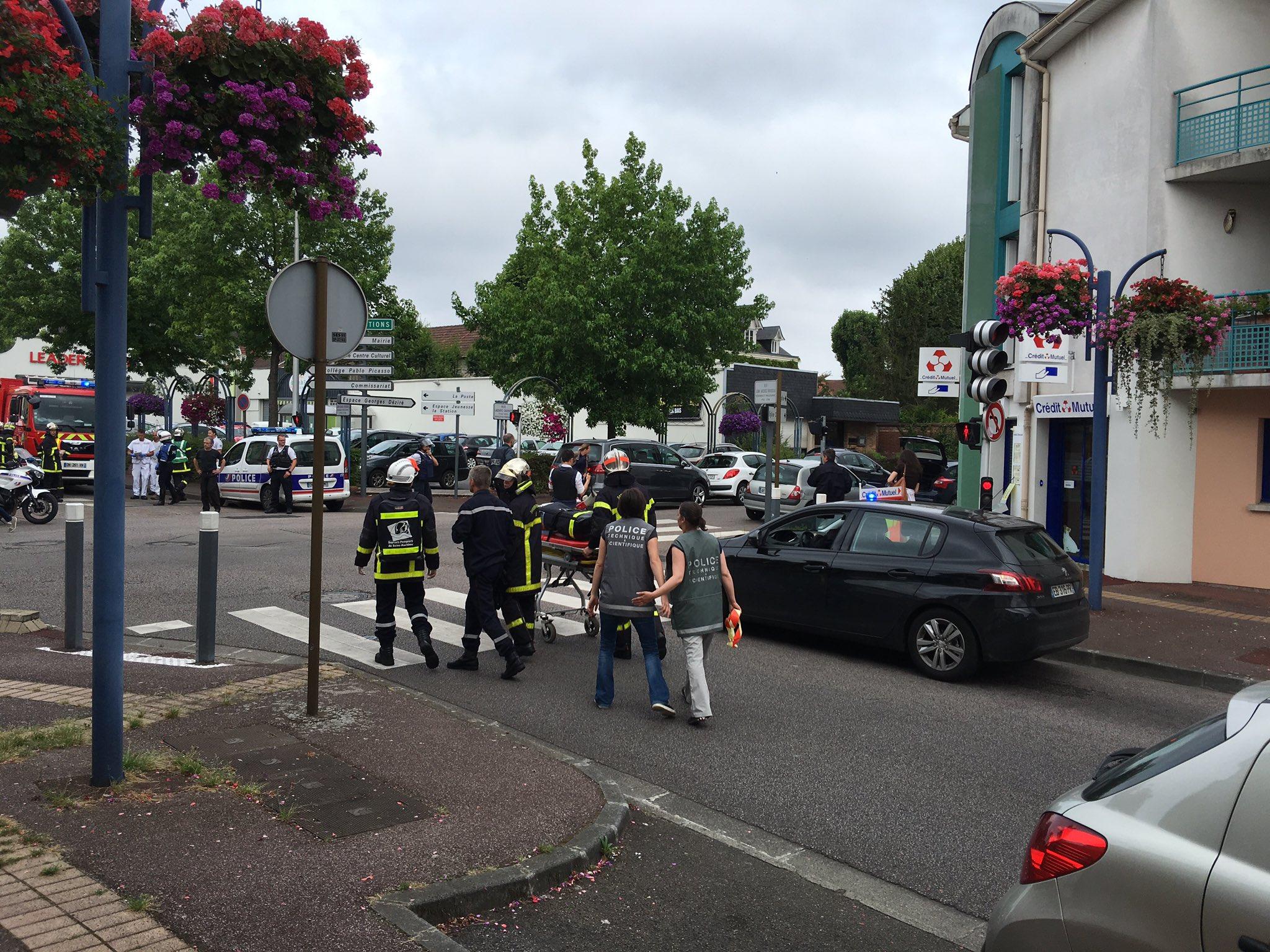 atentado normandia francia terrorismo