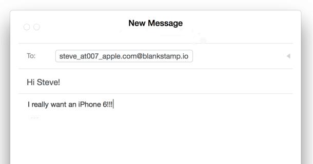 enviar emails anónimos