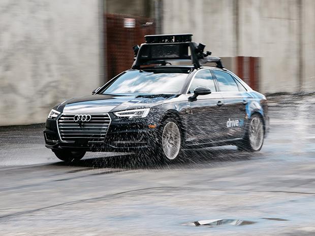 coche autonomo lluvia