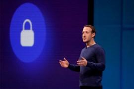 Mark Zuckerberg en un evento