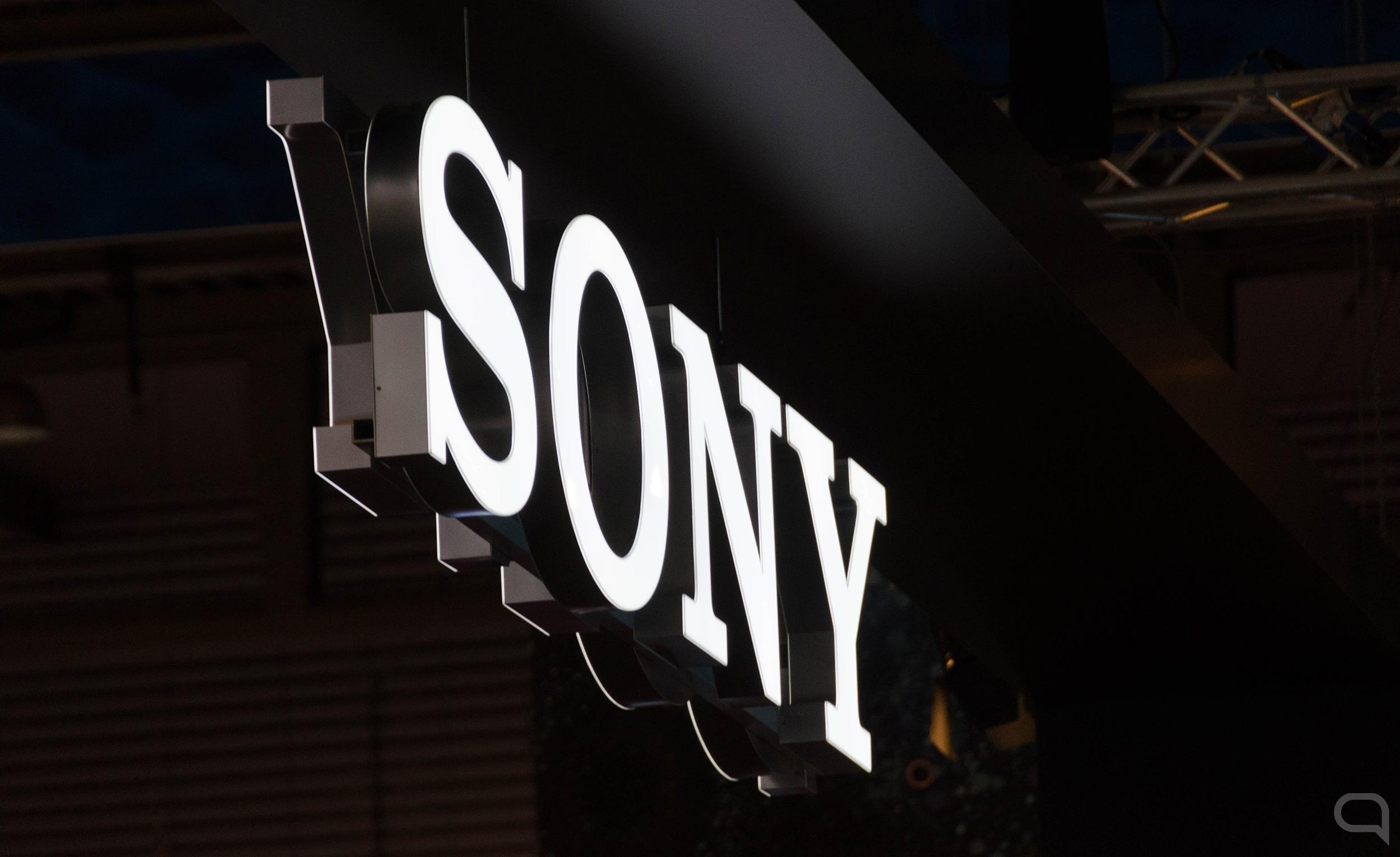 Logo de Sony en el MWC 2019