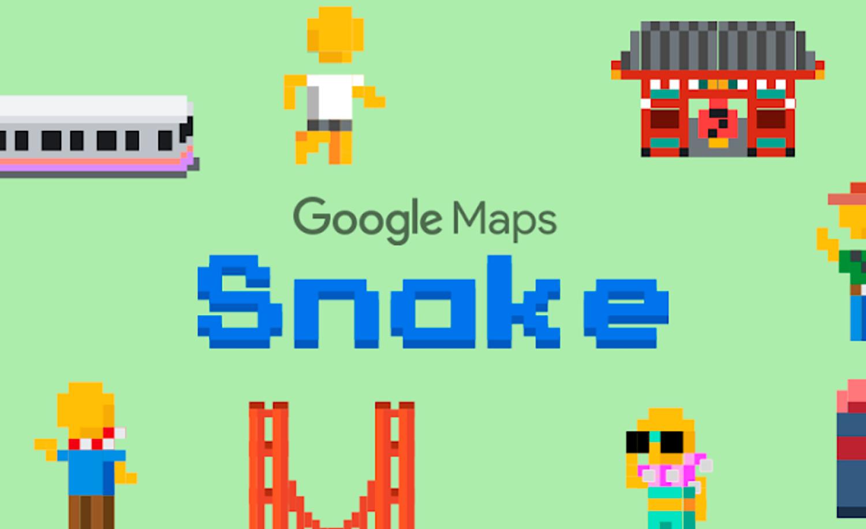 Serpiente en Google Maps