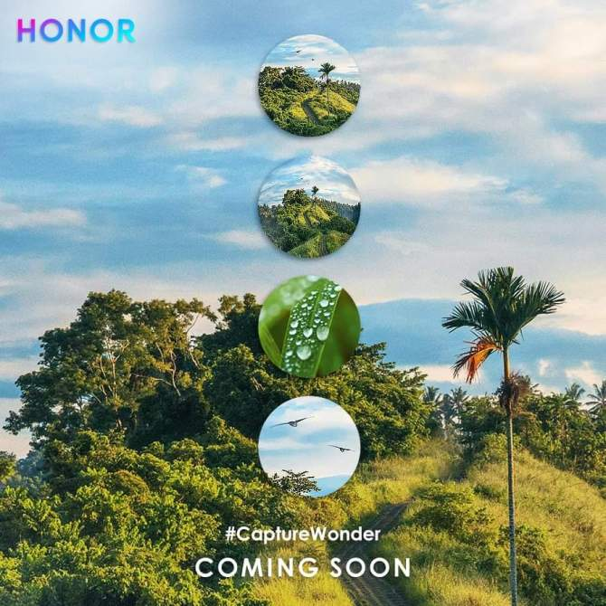 Honor 20 Poster