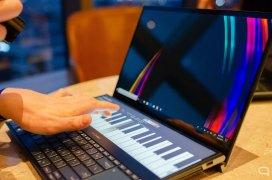 Piano en el Asus ZenBook Pro Duo