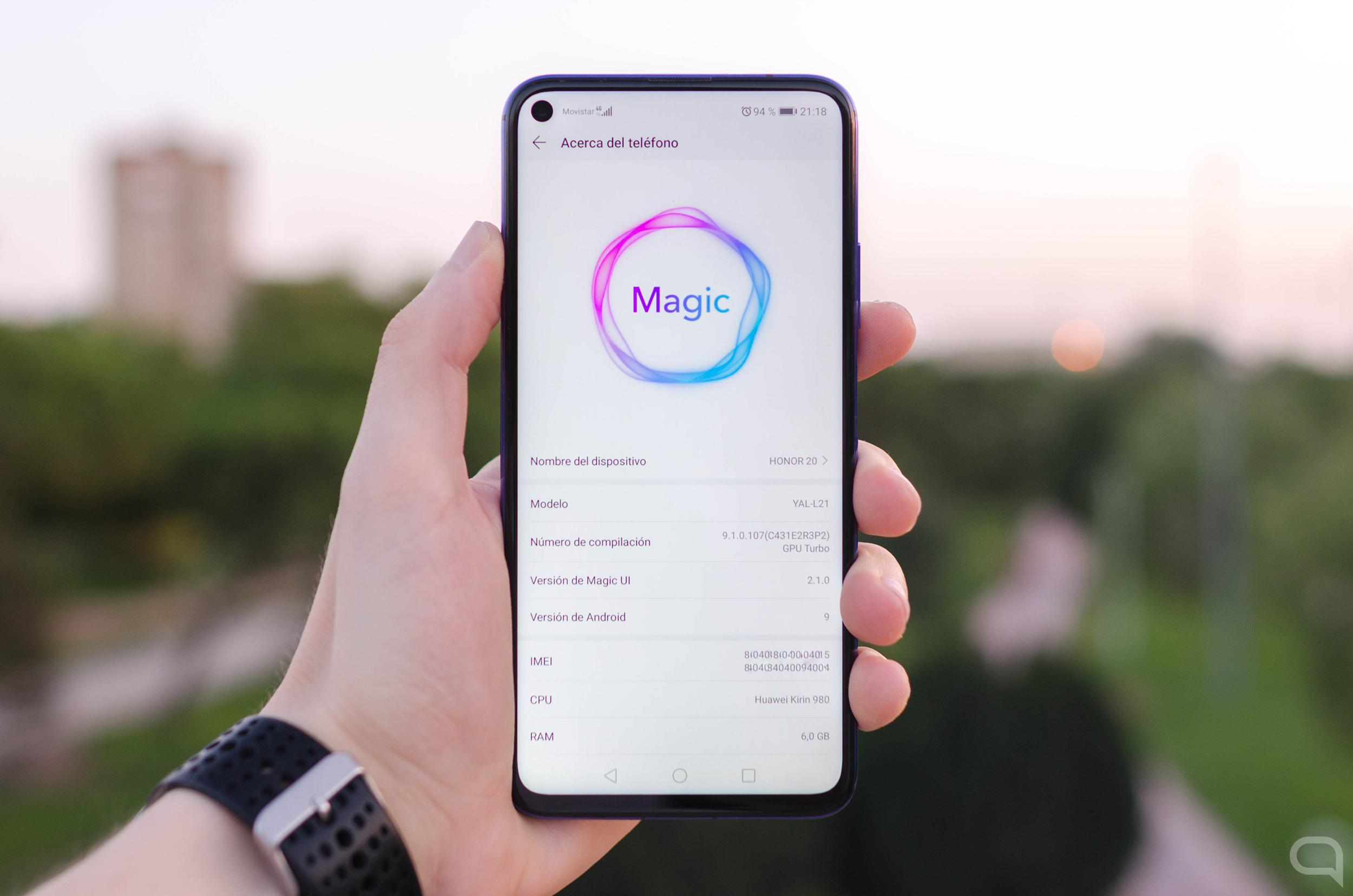 Honor Magic UI