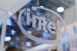 Logo de Intel en Computex 2019