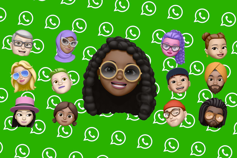 WhatsApp Memoji iPhone