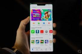 AppGallery en el Huawei Mate 30 Pro