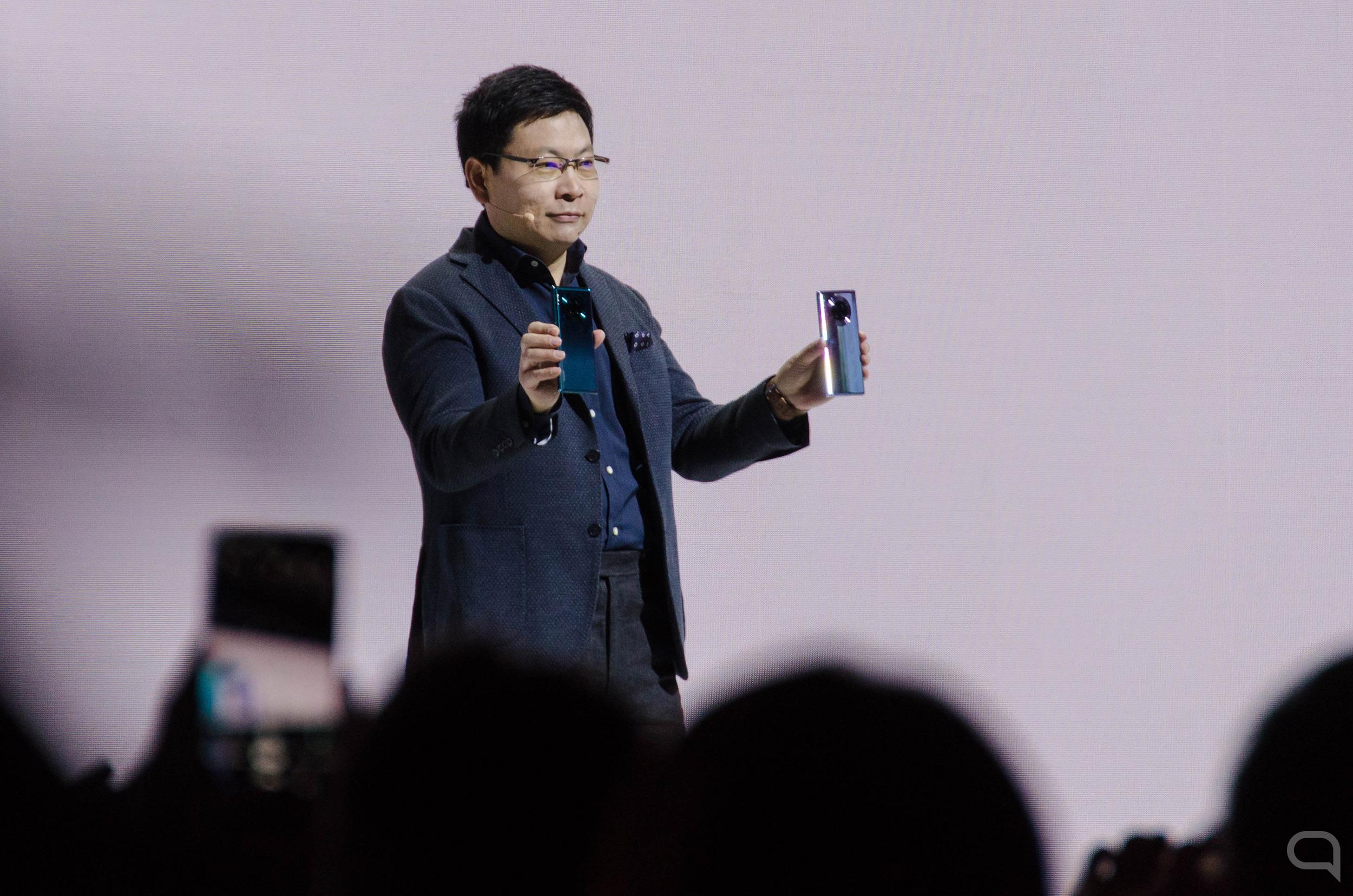 Richard Yu, CEO de Huawei Consumer Business Group