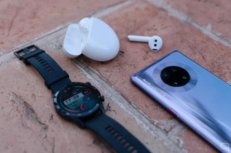 Huawei Mate 30 Pro, Watch GT 2 y FreeBuds 3
