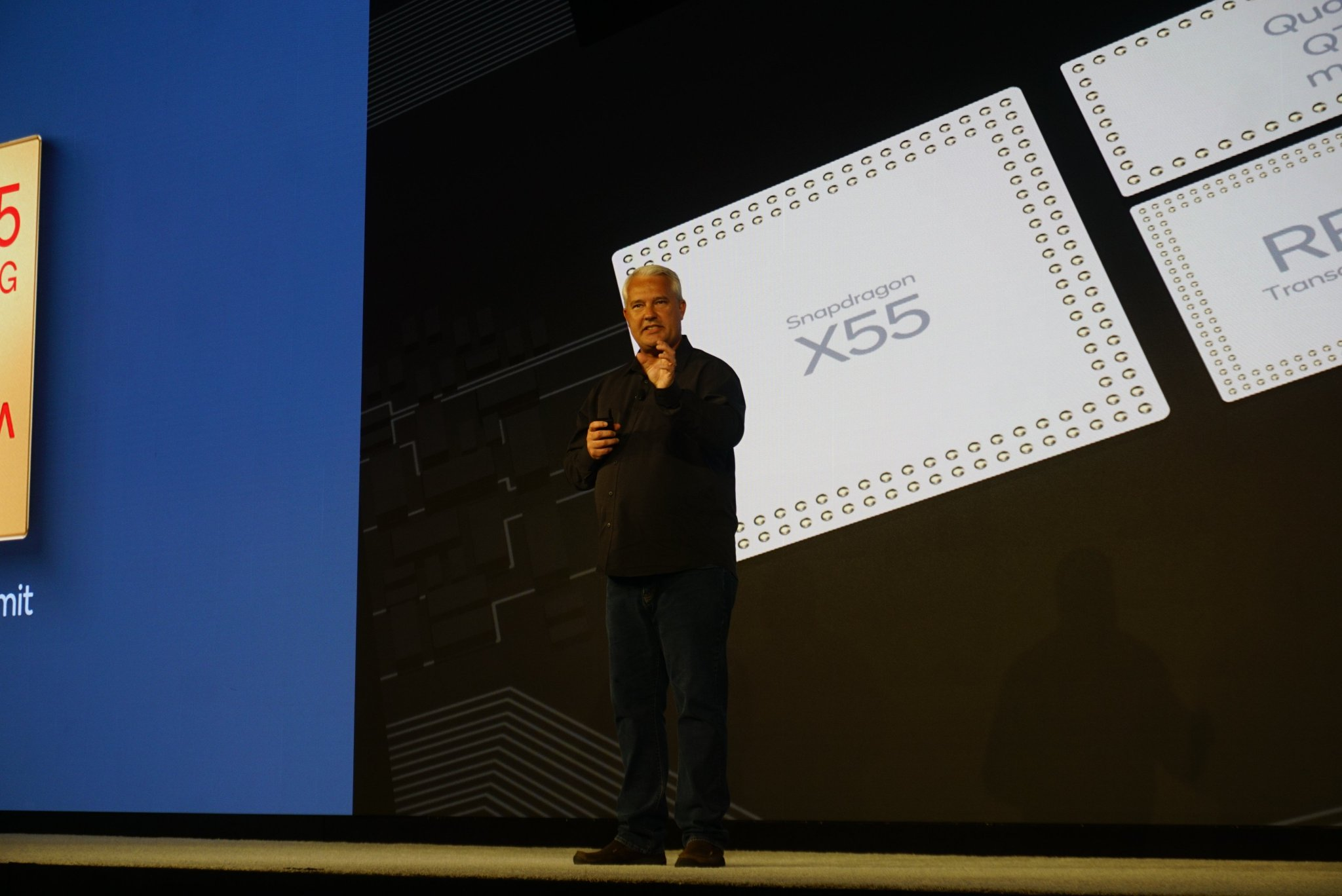 Keith Kressin en un evento de Qualcomm