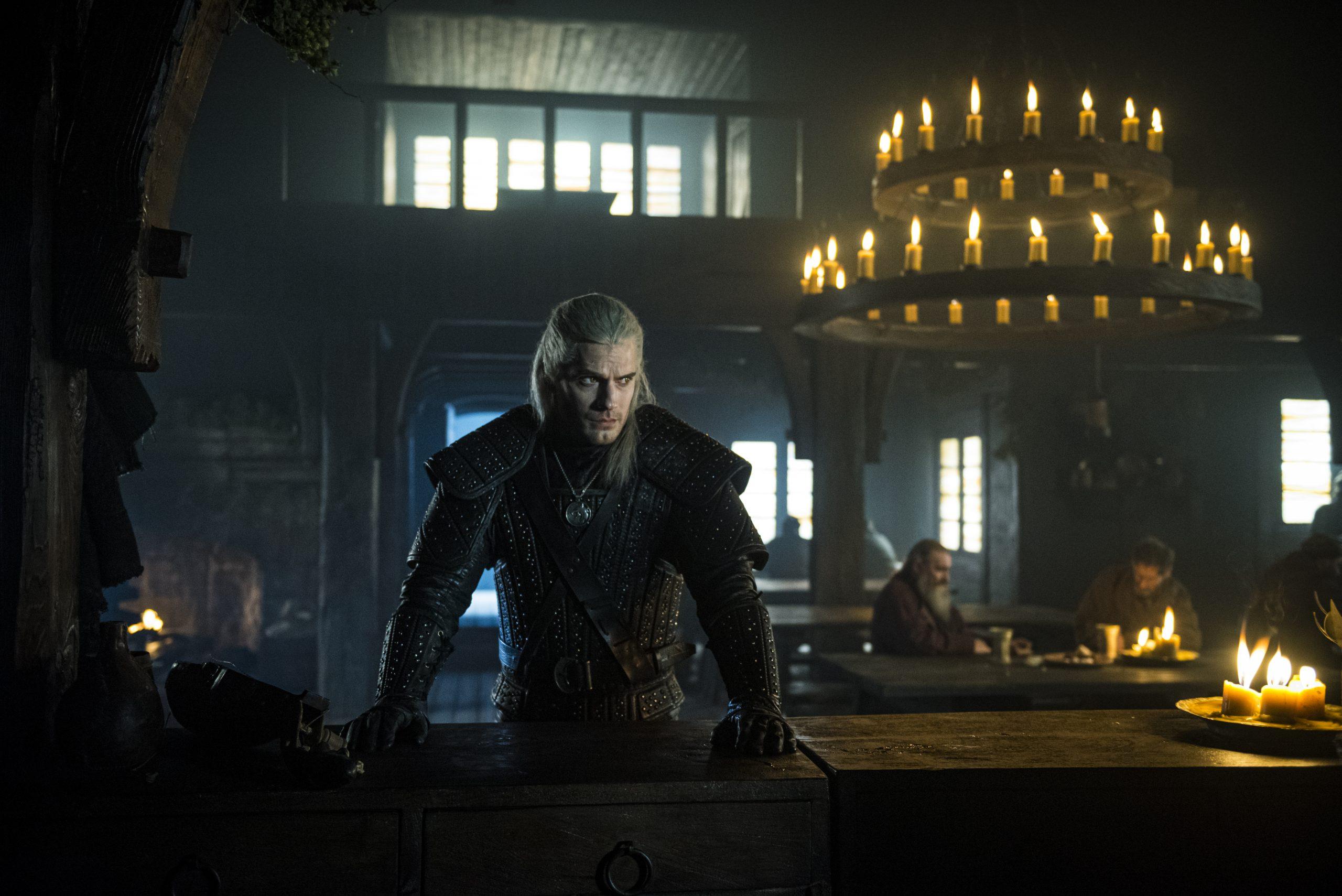Geralt de Rivia en la serie The Witcher