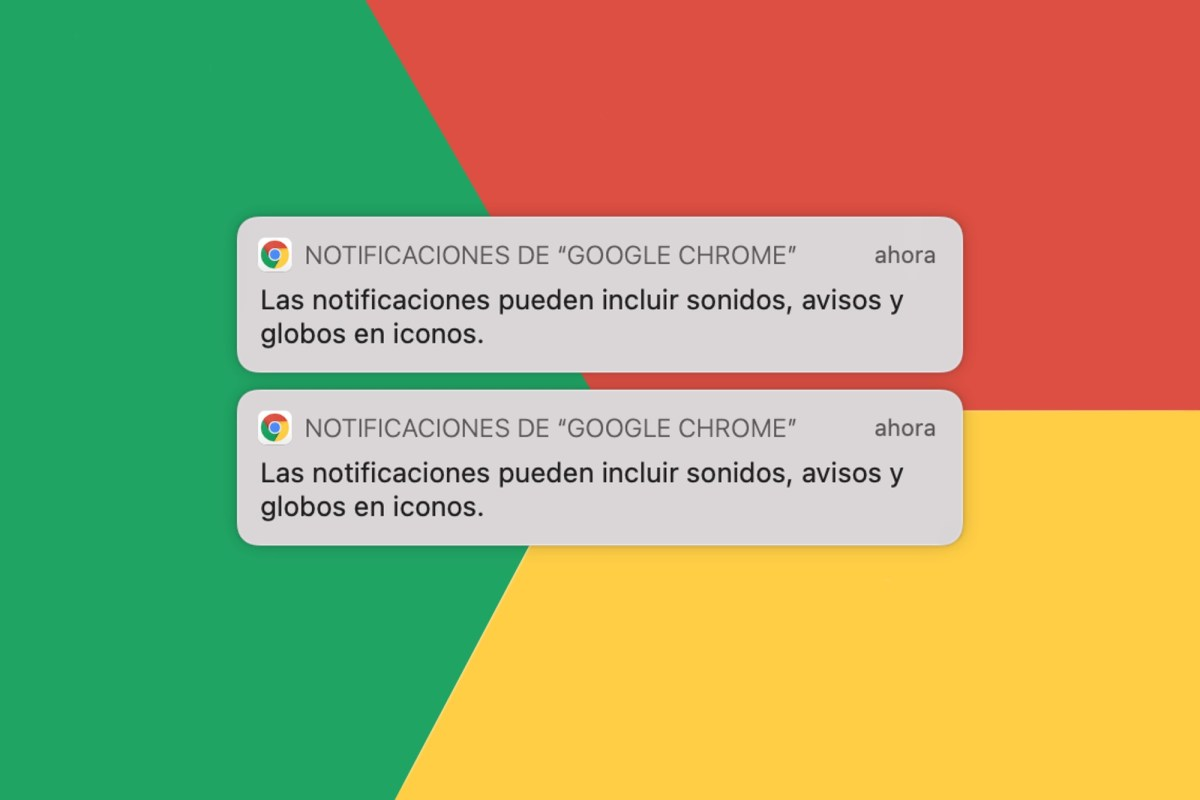 Quitar notificaciones Chrome