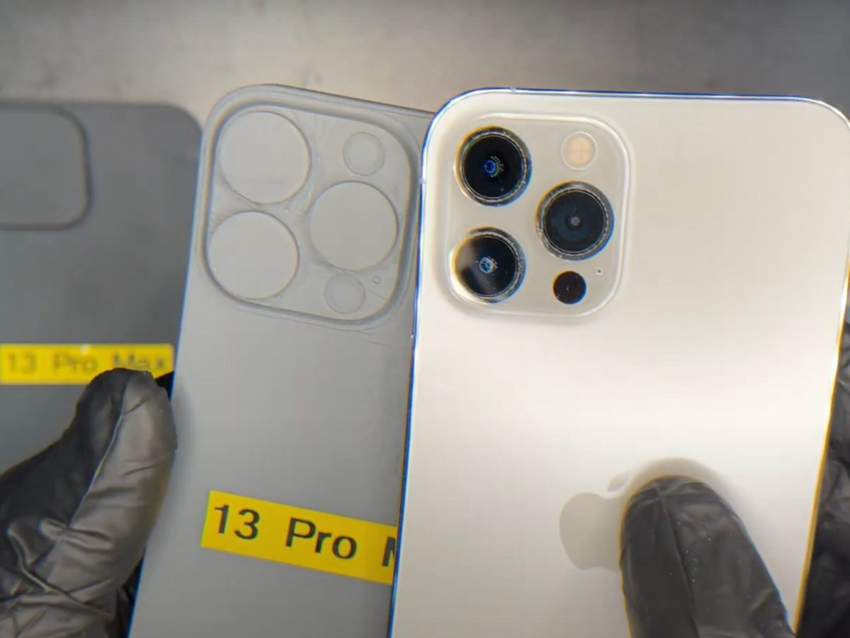 cámaras del iPhone 13